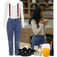 A fashion look from May 2016 featuring Topshop jeans, La Canadienne oxfords and Rampage watches. Browse and shop related looks. Black 90s Fashion, 2000s Fashion, Look Fashion, Fashion Outfits, Street Fashion, Tv Show Outfits, Cute Outfits, Ashley Banks Outfits, Prinz Von Bel Air