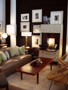 See more images from decorating with brown on domino.com