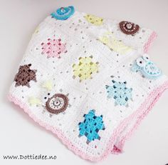 ugleteppedottiedee Love Crochet, Coin Purse, Knitting, Baby Blankets, Design, Pink, Baby Afghans, Bed Covers, Bebe
