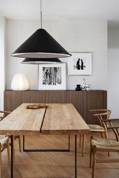 65 Good Modern Mid Century Dining Room Table Ideas - Page 25 of 70 Room Interior Design, Design Furniture, Interior Exterior, Plywood Furniture, Modern Exterior, Interior Paint, Design Lounge, Design Loft, Küchen Design