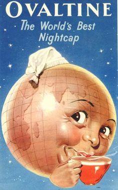 Vintage ad for Ovaltine