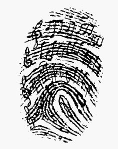 My thumb print.