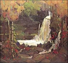 Tom Thomson- Group of Seven- Woodland Waterfall