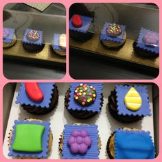 candy crush cup cakes