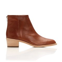 Pair these little ankle booties with a flowy dress for a casual-cool daytime look. // Felix Stacked Heeled Booties by Loeffler Randall Tan Ankle Boots, Mid Calf Boots, Black Boots, Ankle Booties, Minimalist Shoes, Unique Shoes, Fashion Boots, Fall Fashion, Winter Boots