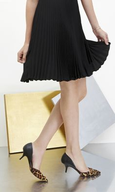 Think of this two piece pump as your new workweek staple that also works into your weekend routine.