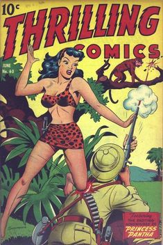 ThrillingComics60 - Jungle girl