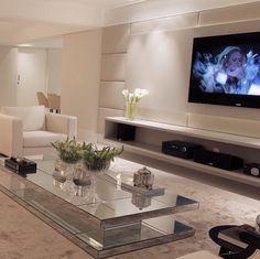 Lindo painel de televisão