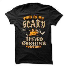 Halloween Tshirt For Head Cashier - #college gift #cute shirt