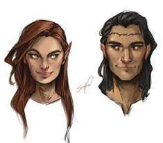Here are some babies🤩 wanted to do some coloured portraits that were quick. Each one took me maybe 30 min due to messing… Feyre And Rhysand, Sara J Maas, Sarah J Maas Books, Throne Of Glass Series, Crescent City, Book Characters, Disney Characters, Fictional Characters, Film