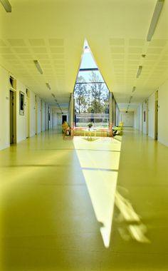 Helsingor Psychiatric Hospital by Bjarke Ingels Group in Helsingor, Denmark