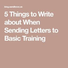 What To Write When Sending Letters To Basic Training  Navy Air