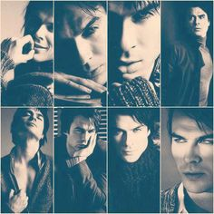 Ian Somerhalder..Exotic postures ad Faces