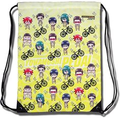Yowamushi Pedal: Sohoku High School Sd Drawstring Bag ** Visit the image link more details. (This is an Amazon Affiliate link and I receive a commission for the sales)