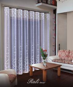 Vice Versa Dots - A, bílá záclona výška 220cm metráž - RALI Decor, s.r.o. - bytový textil, záclony a povlečení