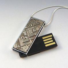 USB drive necklace
