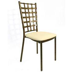 Ballroom Metal Chair Cleo Bronze