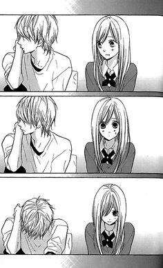 Hanagimi to Koisuru Watashi.....he's soooo shy :3....I love him :3 <3