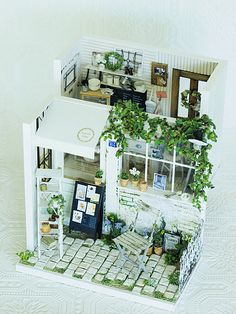 miniature* Garden kitchen と、桜 : natural色の生活~handmade家具