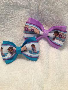 Doc McStuffins Disney Junior Bow