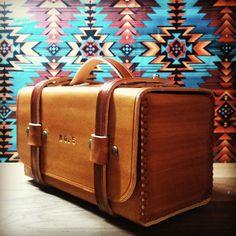 Men's Leather Toiletry Bag / Dopp Kit / Shave Kit by MSTRCKLN