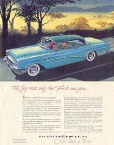 Buick Roadmaster 1955 - Mad Men Art: The 1891-1970 Vintage Advertisement Art Collection