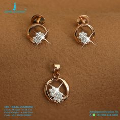 Real Diamond Luxury Design Get in touch with us on Pendant Design, Pendant Set, Diamond Pendant, Pendant Jewelry, Gold Jewelry, Diamond Studs, Gold Studs, Gold Earrings Designs, India Jewelry