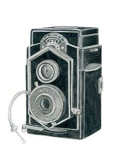 Zeiss Ikon Ikoflex Camera