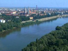 Szeged Szeged Population: 164 000 Szeged is located at the confluence of the rivers Maros and Tisza. After the flood in the town was well. List Of Cities, University Center, I Love Nyc, Danube River, Central Europe, Folk Music, Homeland, Budapest, Places To Travel