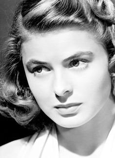 """sophialorens:    Rest in Peace Ingrid Bergman(29 August 1915 – 29 August 1982)  """"I have no regrets. I wouldn't have lived my life the way I did if I was going to worry about what people were going to say."""" - Ingrid Bergman"""