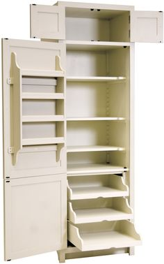 Kitchen Furniture Neptune Kitchen Full Height Cabinets - Chichester 690 Full Height Larder Cabinet K Kitchen Pantry Design, Kitchen Pantry Cabinets, Storage Cabinets, Diy Kitchen, Kitchen Organization, Kitchen Storage, Cupboards, Pantry Cabinet Free Standing, Small Pantry Cabinet