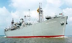 The Liberty Ship was a cargo ship made to a standard for rapid construction during WW2. The US made 2751 such ships during the war, up to 4 a day. They were built on a design from 1879 scaled up for modern use & carried 10,000 tons, the workhorse of the Navy. After the war, they were sold off, primarily to Greece. Two ships remain operational, the John Brown & Jeremiah O'brien, the latter sailing from San Diego to Normandy in 1994, the last original ship from the D-Day invasion in existence.