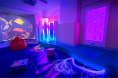 The Elms Day Nursery in Birmingham are loving their new Sensory Room... We are very happy to hear that the children and the staff are enjoying this new sensory environment #creatingtouchingmoments