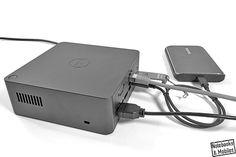 Viele Notebooks haben wenige Schnittstellen und lassen sich im Schreibtischbetrieb nur umständlich in bestehende Arbeitsumgebungen einbinden. Mit Dockingstationen gelingt das deutlich schneller und komfortabler. Dells Thunderbolt Dock TB16 ist ein leistungsstarkes Modell, das nicht nur mit Dell-Notebooks zusammenarbeiten soll. Den ausführlichen Testbericht findet man bei Notebooks & Mobiles: https://notebooks-und-mobiles.de/dell-thunderbolt-dock-tb16-im-test