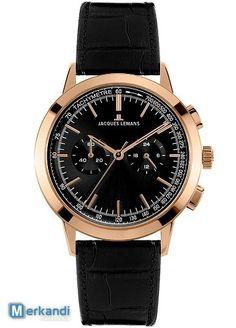 Nowe zegarki marki Jacques Lemans - Zegarki i biżuteria | Merkandi.pl