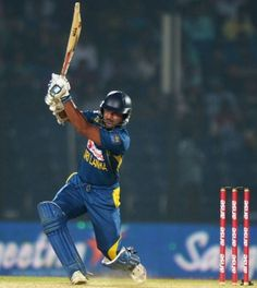 Kumar Sangakkara drives authoritatively, India v Sri Lanka, Asia Cup, Fatullah, February 28, 2014