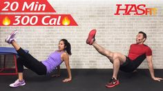 20 Min High Intensity Interval Training Cardio and Arms Workout without ...