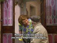 Keeping Up Appearances: One of my favorite shows. British Sitcoms, British Comedy, Appearance Quotes, Funny Sitcoms, English Comedy, Keeping Up Appearances, British Humor, Comedy Tv, Comedy Quotes