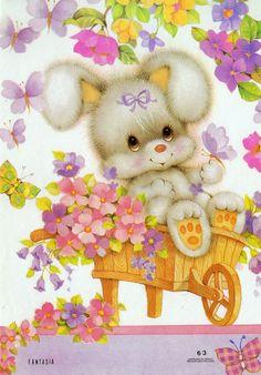 #Fantasia 63 #papeldecarta #bunny #spring #rabbit #cute