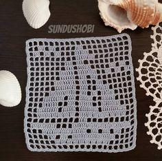 Crochet Patterns Filet, Crochet Table Runner Pattern, Crochet Stitches Free, Graph Crochet, Crochet Doily Diagram, Crochet Lace Edging, Granny Square Crochet Pattern, Crochet Blocks, Crochet Tablecloth