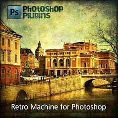 Máquina Retro Plugin para o Photoshop ~ Baixe Tudo Photoshop