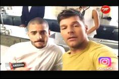 En La Tuerca comentan de la vinculación que se le hace a Maluma con Ricky Martin