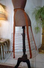 1 antique crinoline 1865