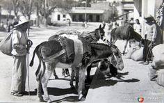 Tipos Mexicanos Arrieros circa 1930-1950. Cortesía: www.MexicoEnFotos.com (Mexico)