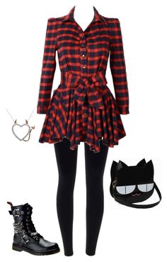 """""""Percy Jackson OC"""" by baby-blue-bubbles ❤ liked on Polyvore featuring Demonia and BubblesOCs"""