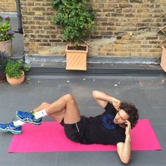 Try this #Leanin15 abs blaster  30 seconds on each exercise  10 seconds between each exercise  Repeat the whole circuit 4 times  #Abs #fitness #Training @bjornborg #fitspo