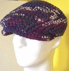 Ravelry: Crochetguy's Original Men's Jeff Cap pattern by Ken Jones-CrochetGuy