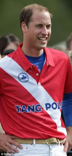 Prince William Polo Player