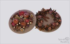 Autumn Melancholia Brooch is a part of Beaded Fall Collection 2019 Designed August/September 2019 for Rutkovsky Beads . Fall Collections, Day Of The Dead, Beading, Brooch, Autumn, Bird, Halloween, Etsy, Day Of Dead