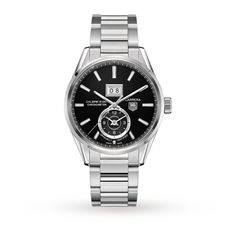 Mens Watches - TAG Heuer Carrera Calibre 8 GMT Gents Watch - WAR5010.BA0723